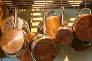 copper clad saucepans